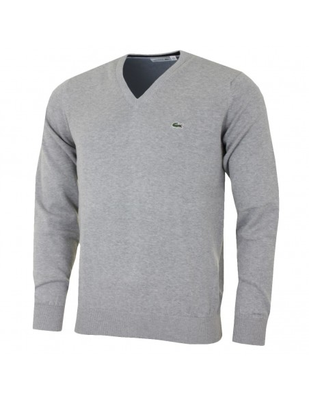 Pullover Lacoste Uomo Argent Chine