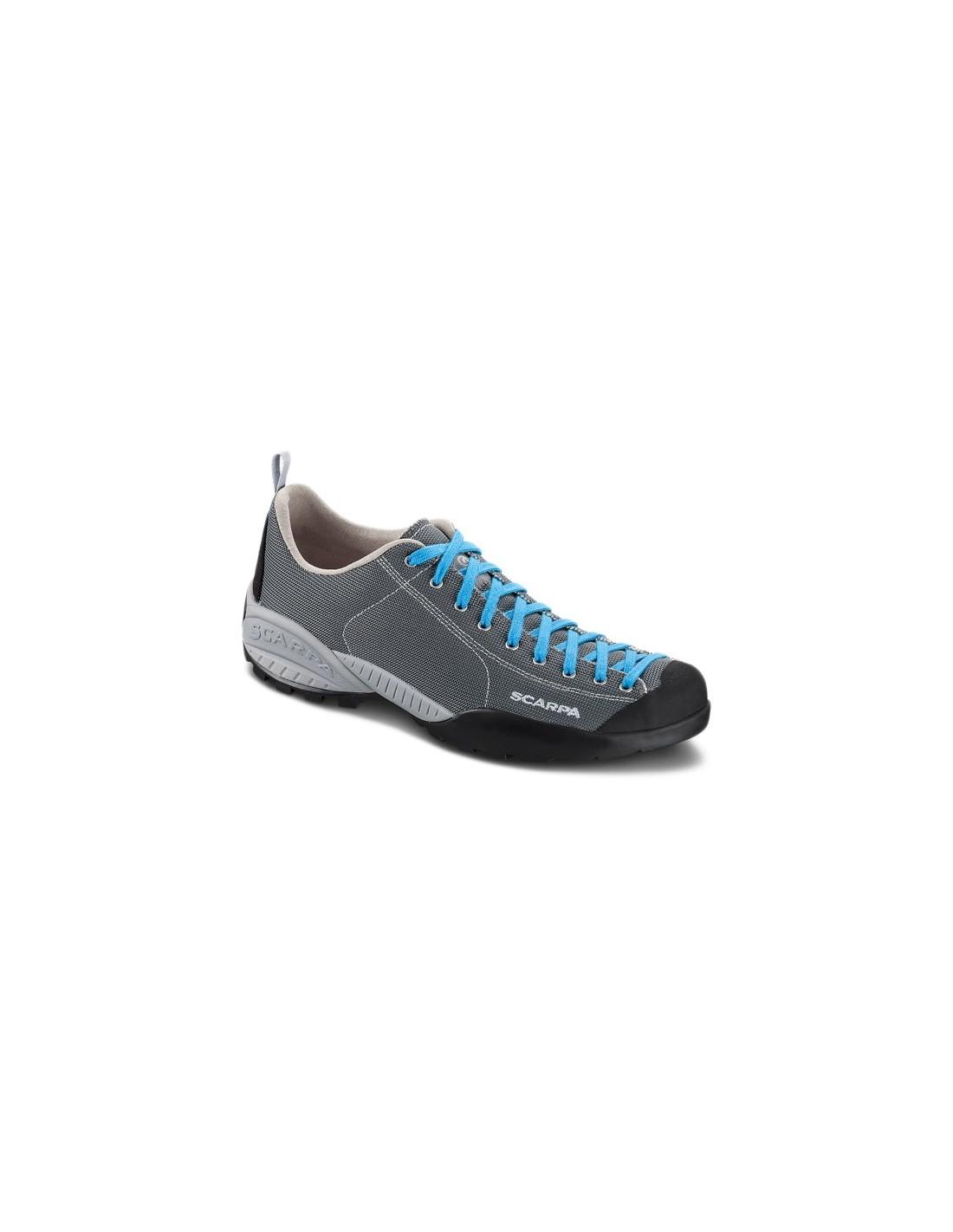 Scarpa MOJITO FRESH - Hiking shoes - gray/azure