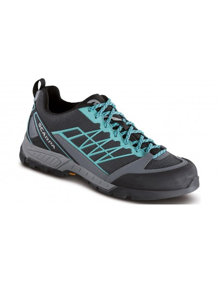 Scarpa Epic Lite OD W Dark Gray-Acqua