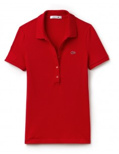 Polo Lacoste Women Rouge