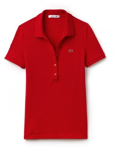 Polo Lacoste Donna Rouge
