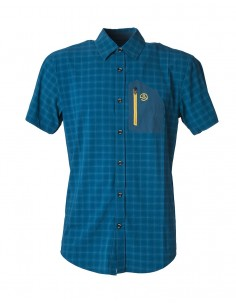 Shirt Ternua Svalder Arctic Dark Checks