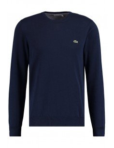Pullover Lacoste Uomo in cotone Marine