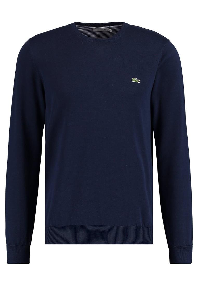 negozio online d538b c8548 Pullover Lacoste Uomo in cotone Marine