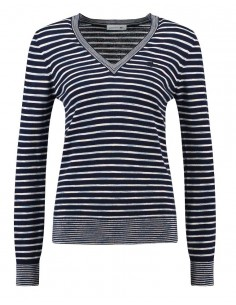 Pullover Lacoste Lana Donna Marine