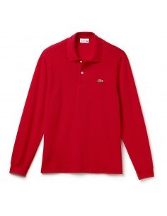 Long-sleeve Lacoste Classic Fit Polo Shirt Rouge