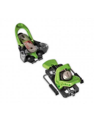 Ski Trab TR2 7-13 DIN Green con skistopper