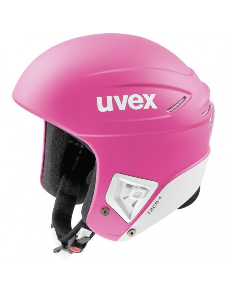 Uvex Race + Pink-White Mat