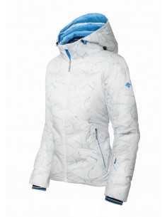 Jacket Descente Sci Women White Mountain
