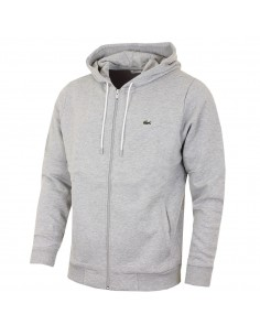 Sweatshirt Lacoste Men Argent Chine