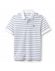 Polo Lacoste Men Blanc/Marine-Blanc