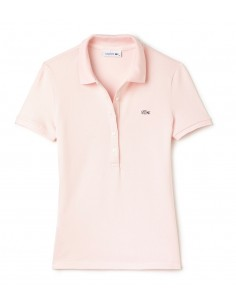 Polo Lacoste Slim Fit Women Flamant