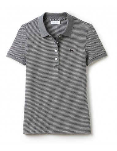 Polo Lacoste Slim Fit Donna Marine/Vanillier