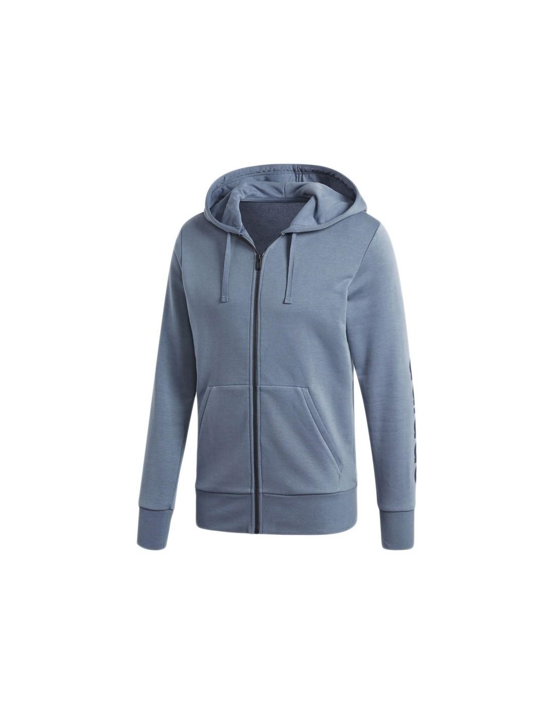 17dce0041315f Felpa Adidas con cappuccio Essentials Linear