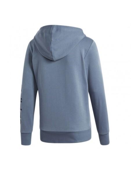 Felpa Adidas con cappuccio Essentials Linear