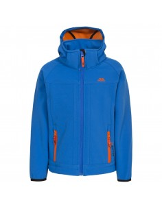 Trespass Jacket Sofshell Swamp Jr Blue