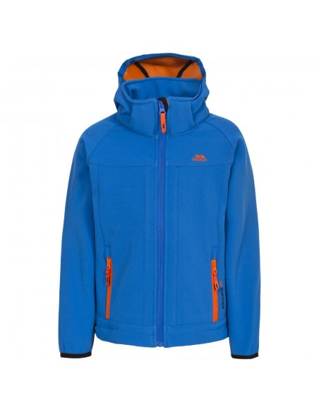 Giacca Trespass Softshell Swamp Jr Blue
