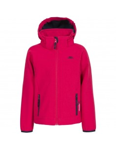 Trespass Jacket Sofshell Swamp Jr Raspberry