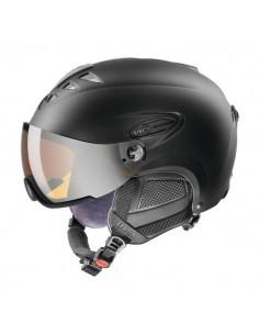 Uvex Hlmt 300 Visor Black Mat