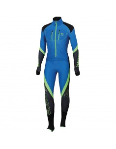 Karpos Race Suit Bluette/Green Fluo