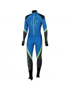 Karpos Race Suit Bluette/Green Fluo
