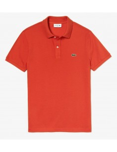 Polo Lacoste Slim 4012 Orange