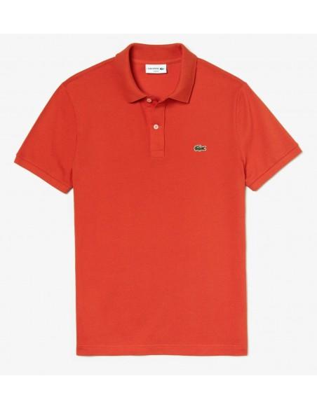 Polo Lacoste Slim 4012 Orange