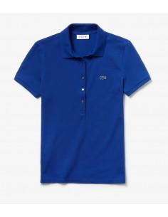 Polo Lacoste Slim Fit Women Bleu Marine