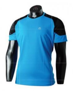 Man Half Sleeves Round Neck Shirt
