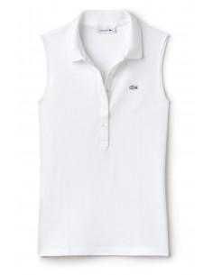 Polo Lacoste Women Blanc