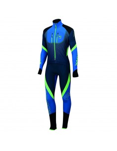 Karpos Race Suit Insignia Blue/Bluette/Green Fl