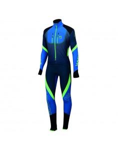 Karpos Race Suit Insignia Blue/Bluette/Green Fl