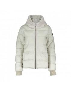 Brekka Metallic Eco Down Hooded Jacke