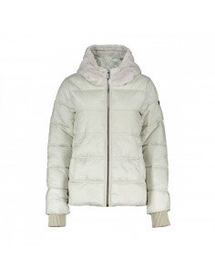 Brekka Metallic Eco Down Hooded Jacket