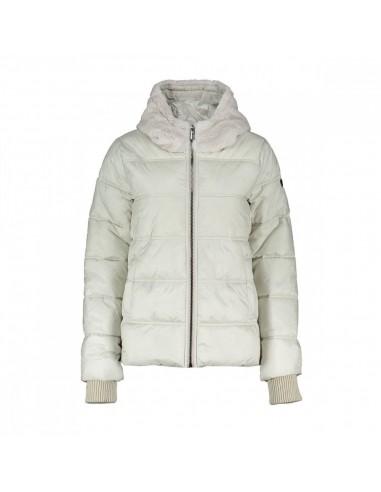 Brekka Metallic Eco Down Hooded Jacket