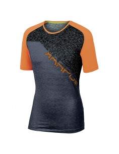 Maglia Karpos Croda Rossa Jersey Orange Fluo/Dark Grey