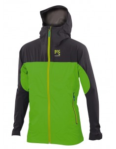 Karpos Vetta Evo Jacket Apple Green/Dark Grey