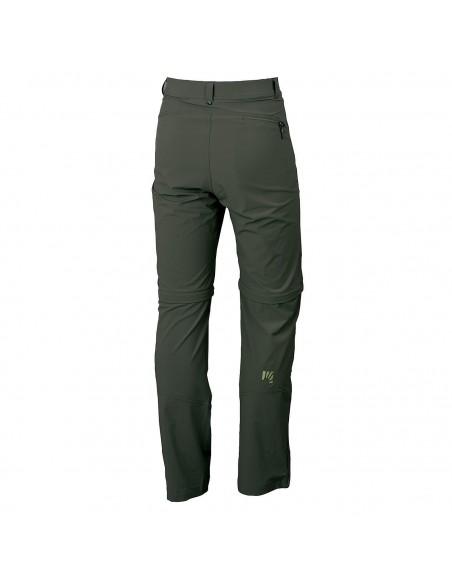 Pantalone Karpos Scalon Zip-Off Black Ink