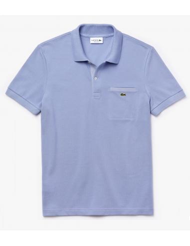 Regular Fit Herren Lacoste Poloshirt mit Kontrast-Akzenten