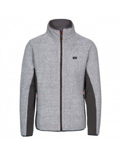 Trespass Templetonpeck Fleece Platinum Men