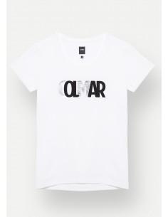 T-Shirt Colmar Donna con logo sfumato