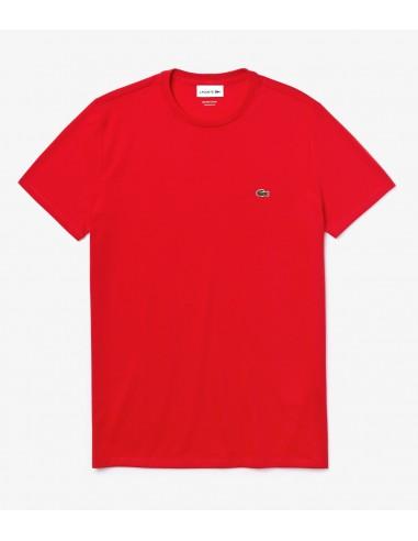 T-Shirt Lacoste Herren Rouge S5H