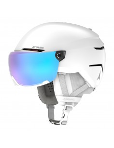 Atomic Savor Visor Stereo White Heath