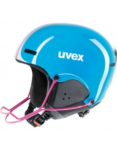 Uvex hlmt 5 Junior Cyan-Pink