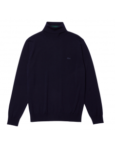 Herren Lacoste Woll-Pullover mit Rollkragen