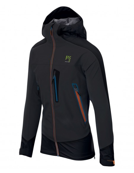 Karpos Marmolada Jacket Dark Grey/Black