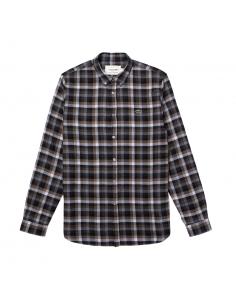 Regular Lacoste Fit Herren-Hemd aus karierter Baumwolle