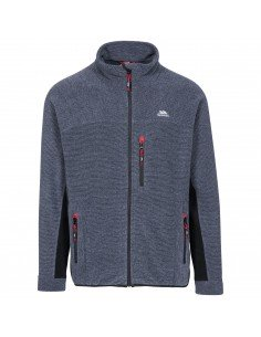 Pile Uomo Trespass Jynx Fleece Navy Stripe