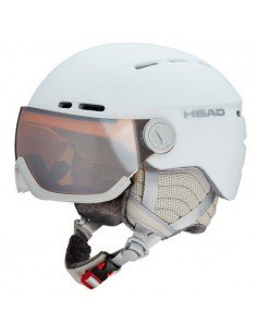 Casco Head Queen White