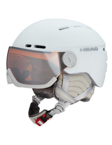 Helmet Head Queen White